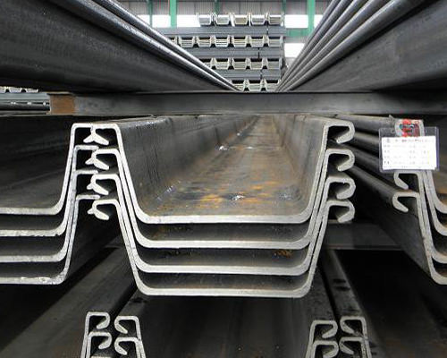 Larsen steel sheet pile to the long welding requirements