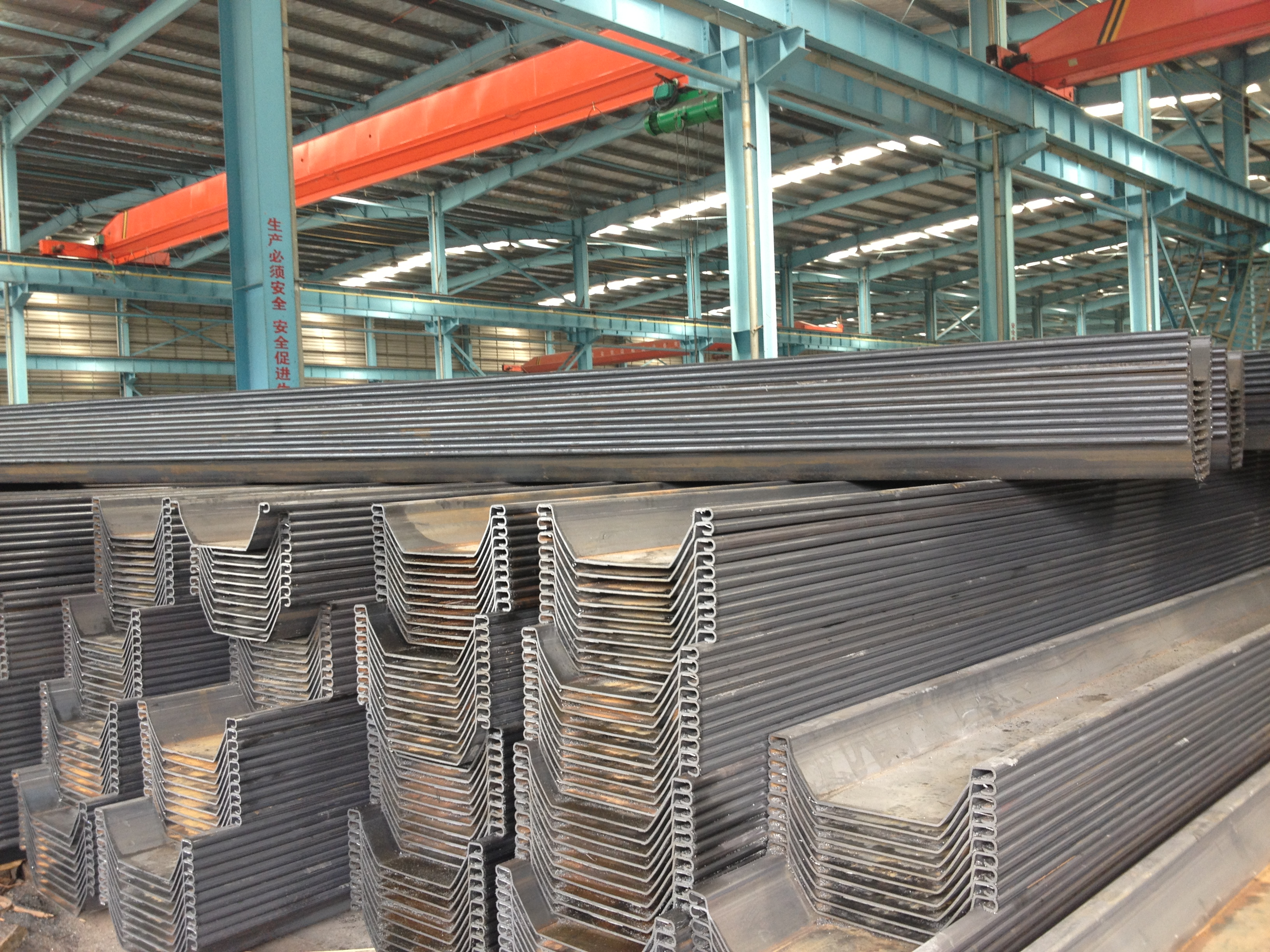 Cold-rolled Anchored Cofferdam U Type Sheet Pile