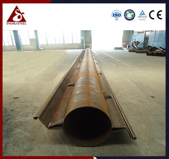 Anchored Interlocking Pipe Piles Wall