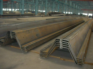 Z Steel Sheet Piles