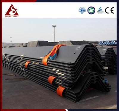 The characteristics and advantages of sheet pile