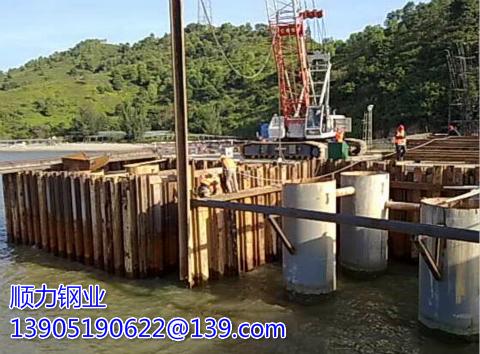 Causes of Destruction of Cofferdam of sheet piling【Shunli